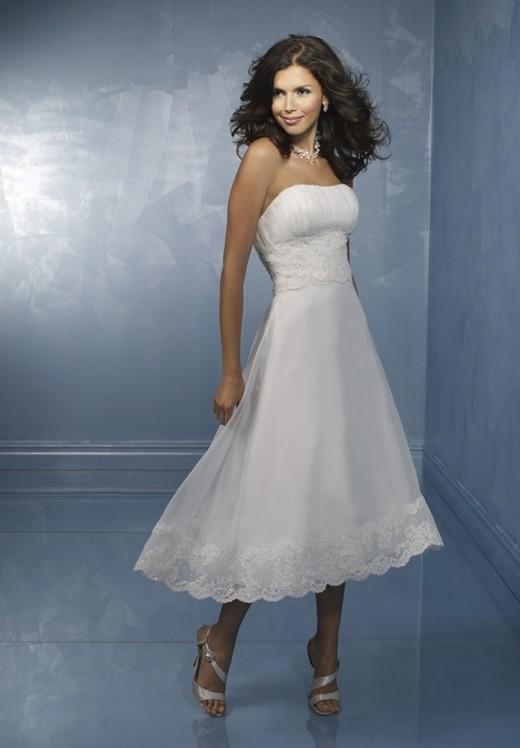 Коко Шанель понятия короткого свадебного платья