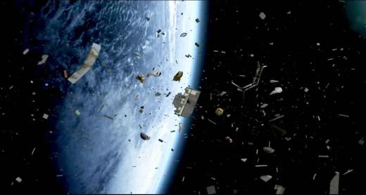 Космический мусор может спровоцировать масштабную войну на Земле