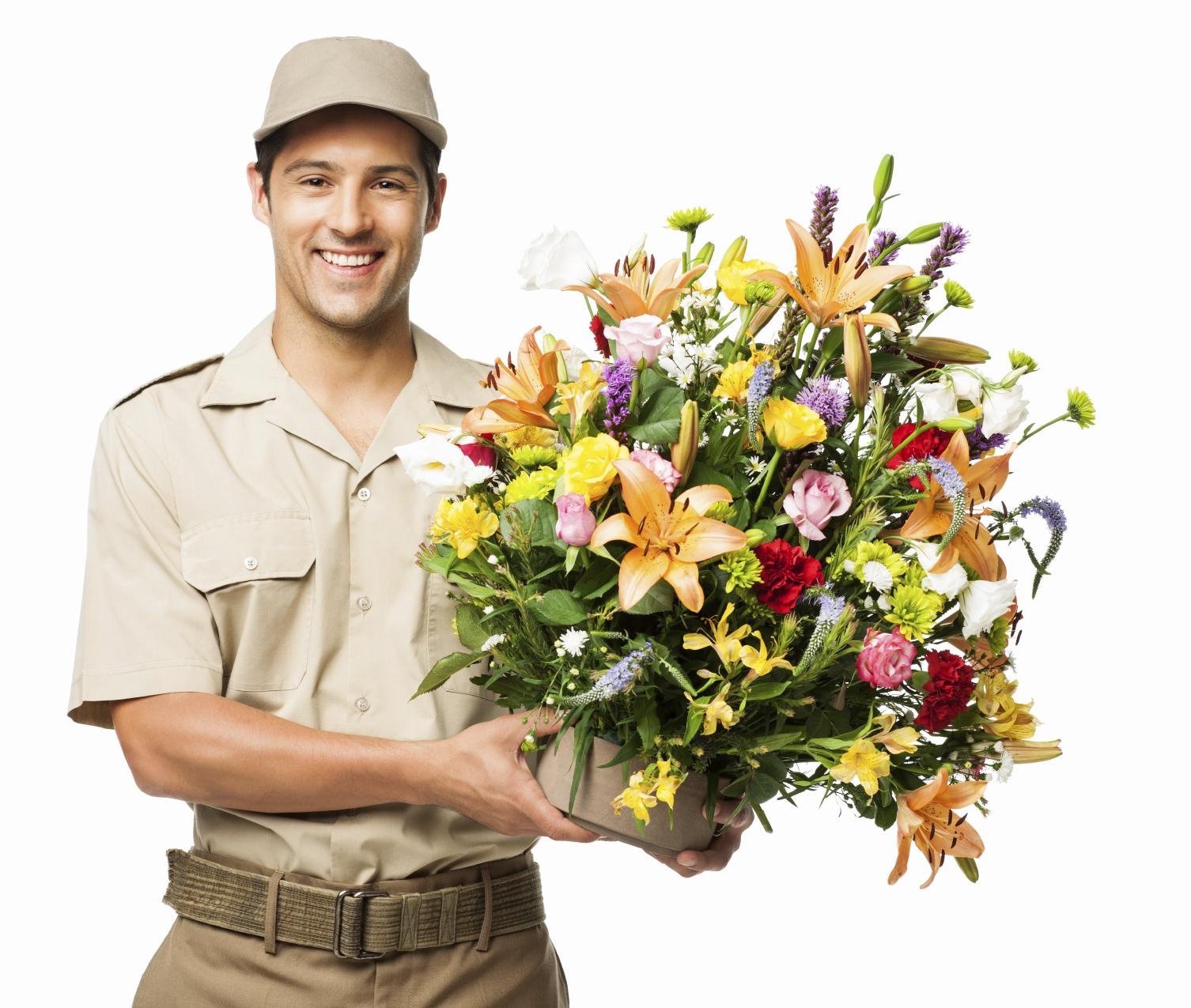 Заказ на онлайн доставку цветов