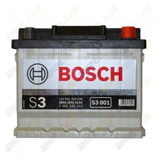 Чешские авто аккумуляторы Bosch S3 для легкового транспорта в Украине