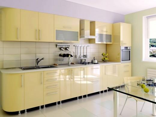 Советы по выбору фасада для кухни на заказ