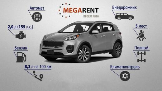 MEGARENT - прокат автомобилей