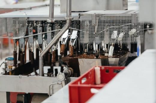 Процесс производства мороженого