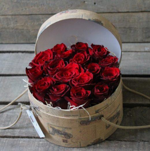 Как сделать цветы в коробке