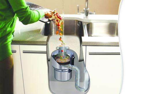 Кухонный диспоузер – лучшее средство для утилизации пищевых отходов