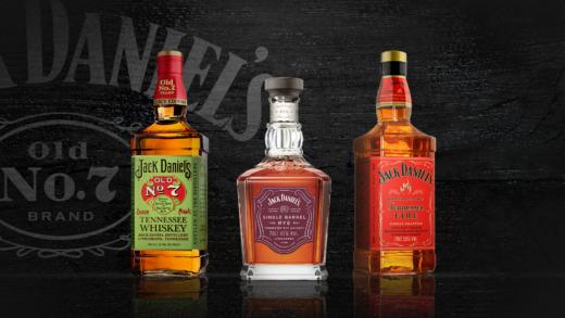 Jack Daniel's представляет в России три новых вариации легендарного виски