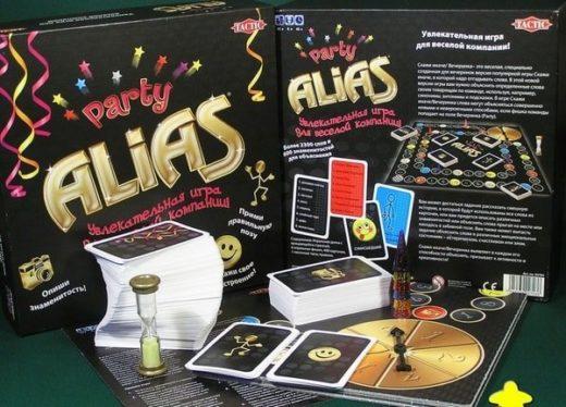 Alias: настольная игра для веселой компании