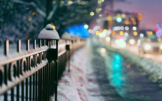 Можно ли ставить забор зимой и как
