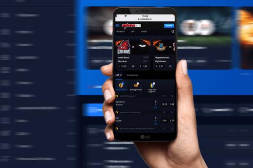 Мобильное приложение Вулканбет