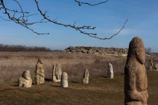 Каменная могила на дне Сарматского моря