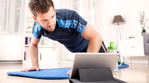 Услуги сервиса motify.com в области фитнеса и пилатеса