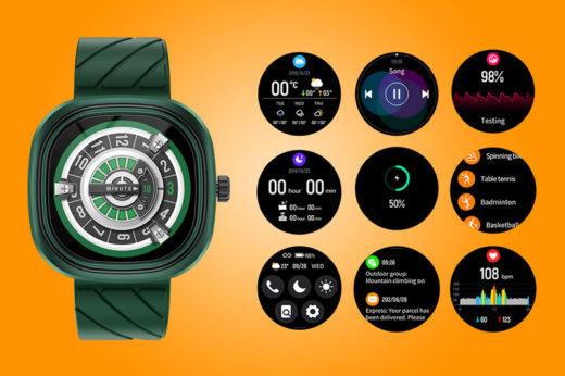 Квадратный корпус, элегантные расцветки и незаменимый функционал: на российском рынке появились «умные» часы Doogee DG Ares