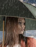 Волосы в дождливый день