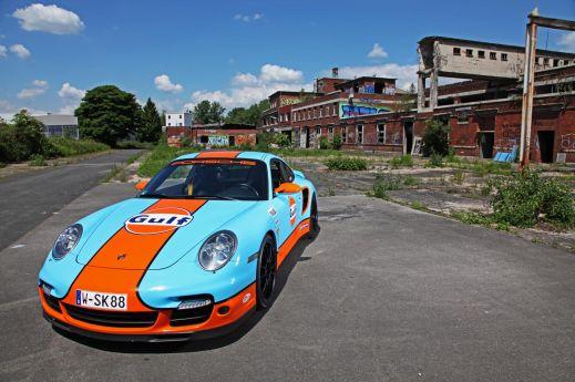 Porsche 911 (997) Turbo от ателье Cam Shaft и 9ff