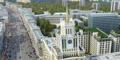 Жилищный комплекс с садами на крыше появится в Москве