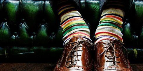 История пары мужских носков