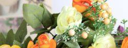 Искусственные цветы: всегда уместно, красиво, практично