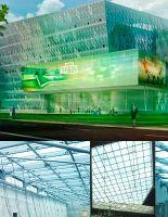 Компания «МЗК-Электро» оформила контракт на обогрев прозрачной кровли нового офиса «НТВ»