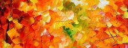 Осень — время для творчества художника