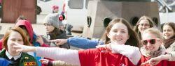 Волонтеры-медики приглашают жителей Москвы и гостей столицы в парк им. Горького на массовые зарядки