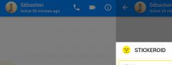 Stickeroid стал доступен в блог-платформе Hype и части пользователей Facebook Messenger