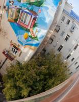 Роспись фасадов зданий как рекламный ход