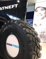 Установочная серия ЦМК шин нового поколения KAMA PRO NU 404 в производство