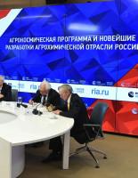 Круглый стол «Космос начинается с земли» прошел в пресс-центре «Россия сегодня»