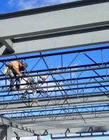 Балка стальная двутавровая, применение в строительстве
