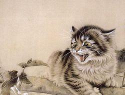 Кошки в стиле Гохуа