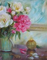 Картины с пионами: эталон художественной красоты
