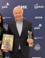 «Кварталы 21/19» признан лучшим ЖК года комфорт-класса в Москве