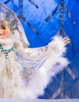Новогоднее поздравление и спектакль «Дед Мороз» в Московском детском Сказочном театре