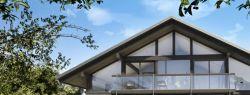 Проекты современных хай тек домов и коттеджей в стиле фахверк от Kager