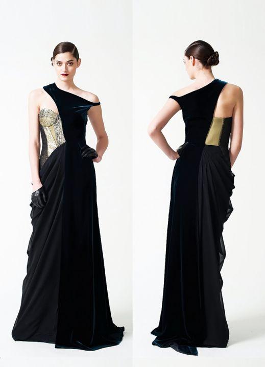 Бархатные вечерние платья