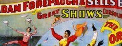 Старинные театральные и цирковые афиши
