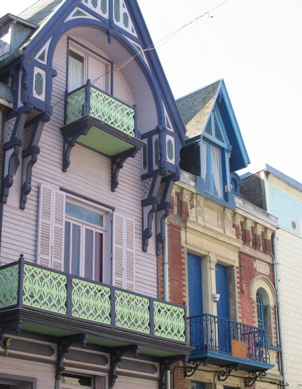 Домики в стиле Belle Epoque
