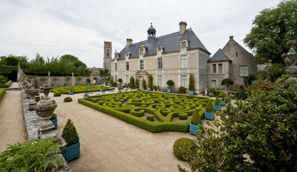 Замок и сады Бреси, Нормандия