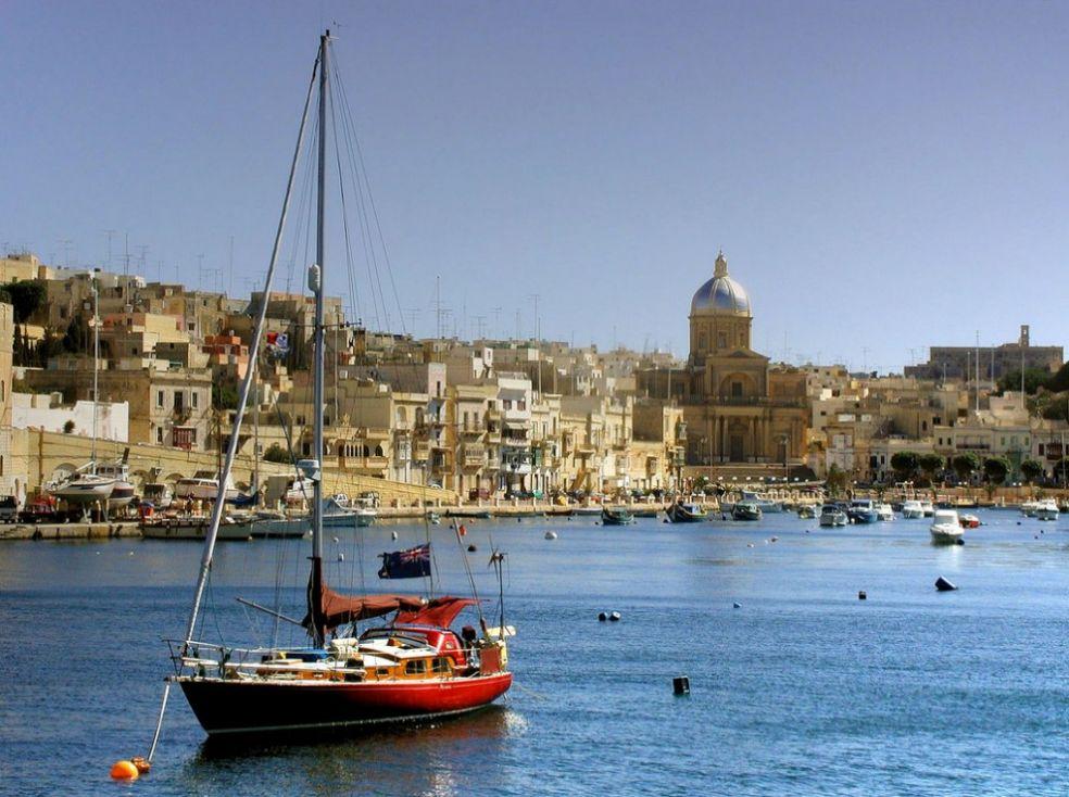 Парусные яхты на Мальте