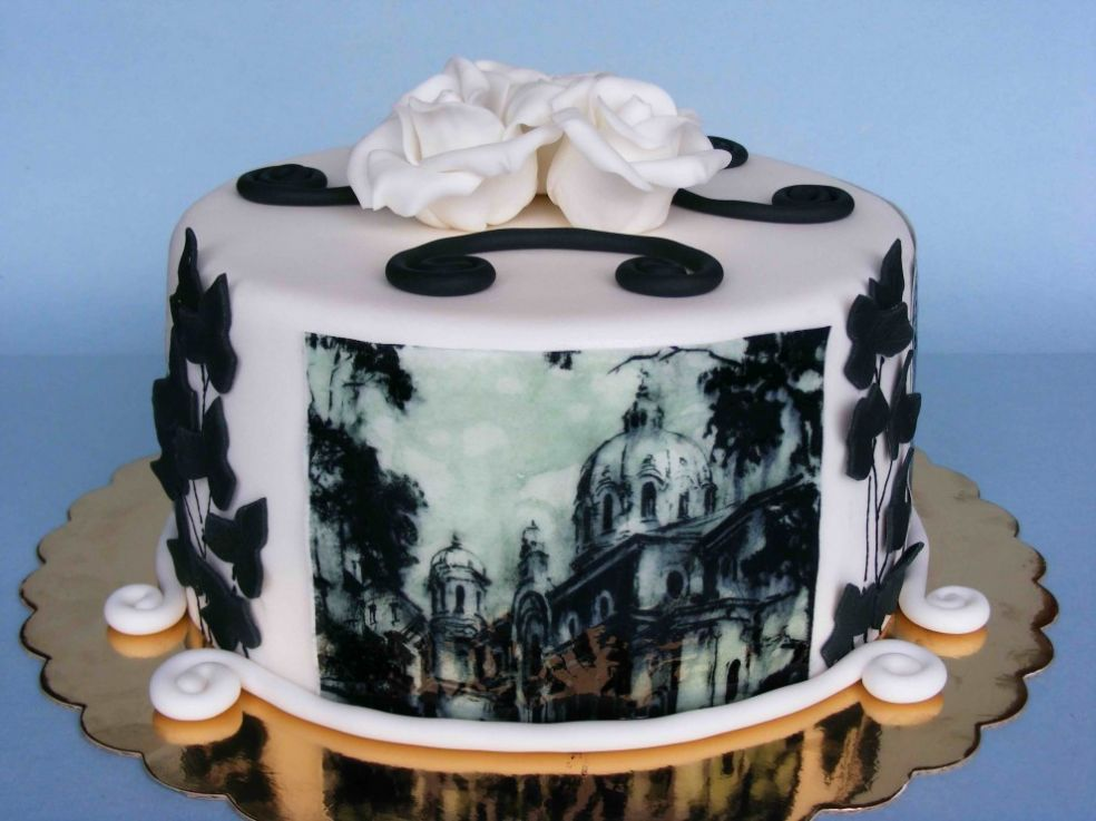 Торт - произведение искусства