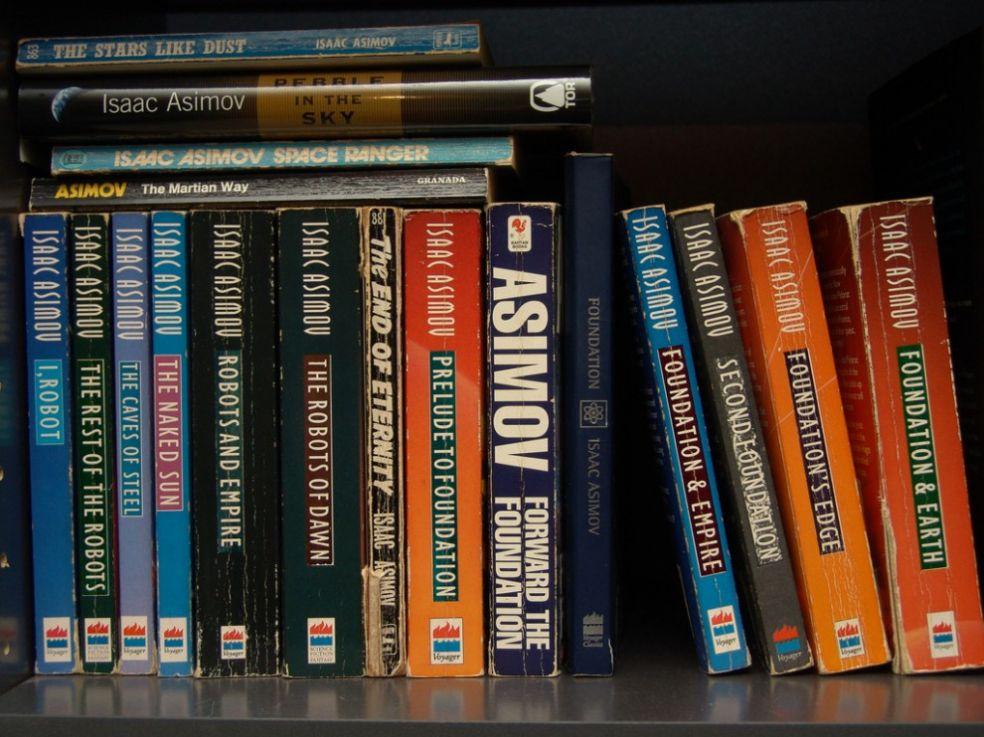 Коллекция книг Айзека Азимова