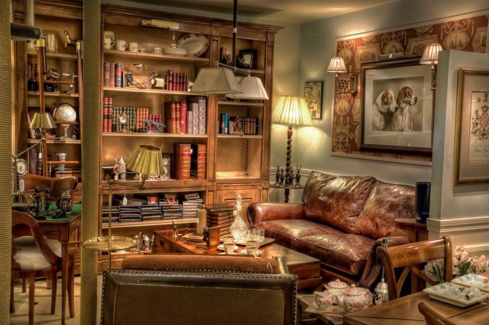 Книг - лучшее украшение мебели