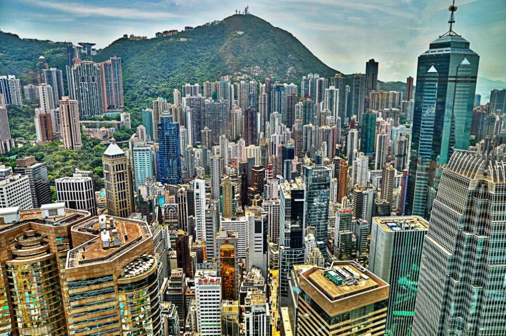 Небоскребы Сохо, Гонконг