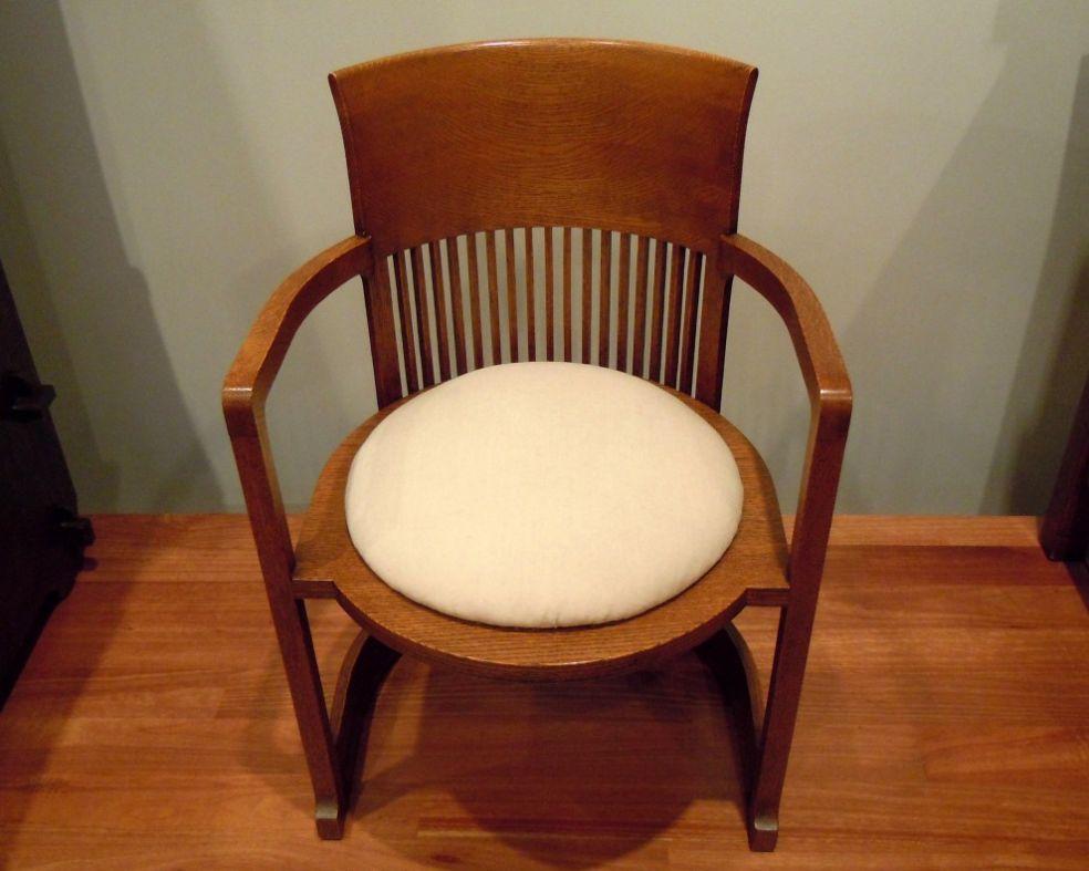 Кресло работы Фрэнка Ллойда Райта