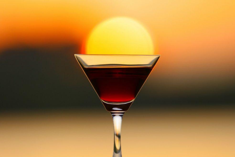 Солнце в бокале вина