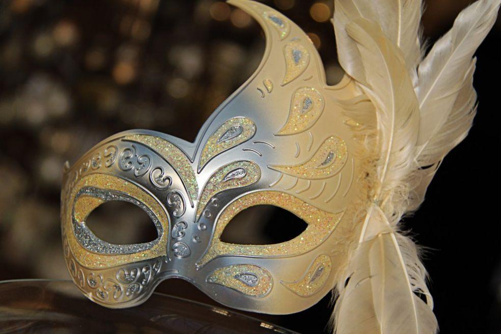 Рождественская маска