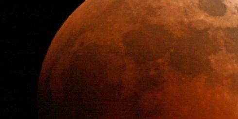 10 декабря будет кроваво-красное затмение Луны
