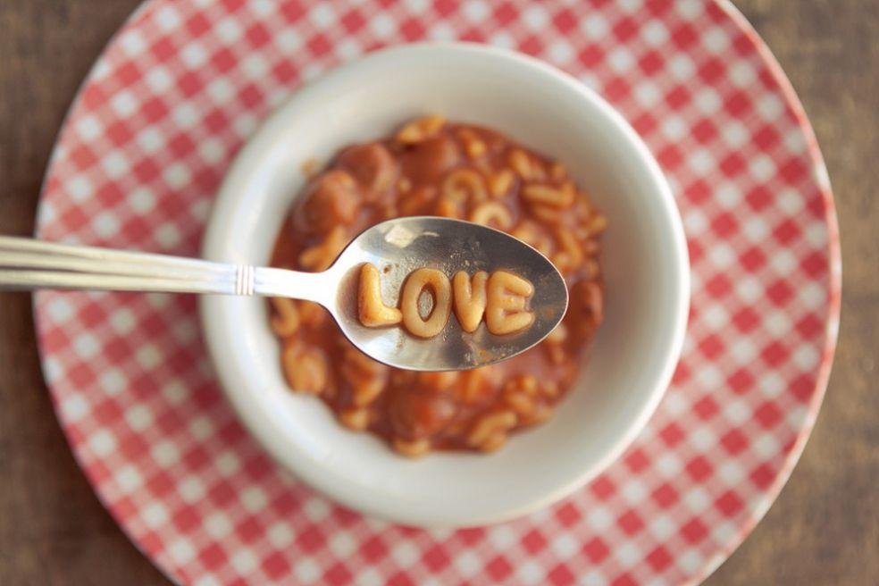 Обычный романтический  суп