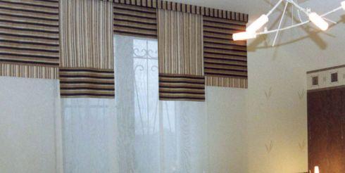 Как своими руками изготовить японские шторы?
