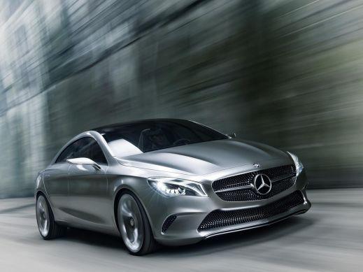 Mercedes-Benz показал изображение нового концепта